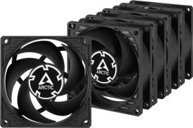 Arctic P8 PWM PST schwarz, 80mm, 5er-Pack (ACFAN00154A)