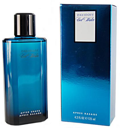 Davidoff Cool Water Aftershave lotion Splash 125ml -- © Design4Stars