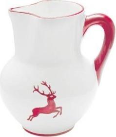 Gmundner Keramik Rubinroter Hirsch Krug Wiener Form 1l (0318KRWF09)