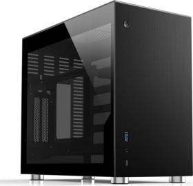 Jonsbo V10 schwarz, Glasfenster, Mini-ITX (V10-G Black)