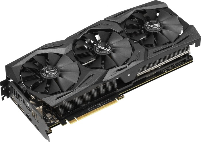 ASUS ROG Strix GeForce RTX 2070, ROG-STRIX-RTX2070-8G-GAMING, 8GB GDDR6, 2x HDMI, 2x DP, USB-C (90YV0C92-M0NA00)