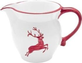 Gmundner Keramik Rubinroter Hirsch Milchkanne Cup 300ml (0318GMGL05)