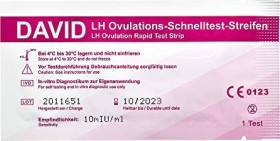 David Ovulationstest 10miu/ml LH, 10 Stück