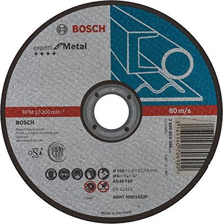 Bosch As46tbf Metall Expert Trennscheibe 150x1 6mm Ab 1 40 2019