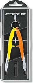 Staedtler Mars comfort 556 Präzisions-Geometriezirkel, neon gelb/orange (556 00-N3)