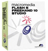 Adobe: Flash 5 FreeHand 10 Studio (angielski) (Mac) (whm050i000)