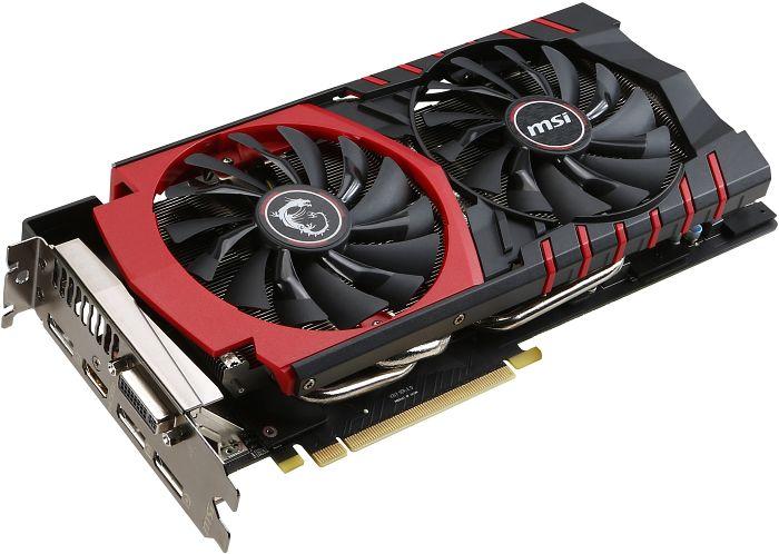 MSI GeForce GTX 980 Gaming 4G, 4GB GDDR5, DVI, HDMI, 3x DisplayPort (V317-008R)