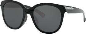 Oakley Low Key polished black/prizm black polarized (Damen) (OO9433-0754)