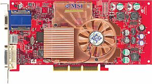 MSI MS-8900 G4TI4800SE-TD8X, GeForce4Ti4400-8X, 128MB DDR, DVI, TV-out, AGP
