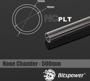 Bitspower HardTube PETG Rohr, 50cm, 12/10mm, klar (BP-NCPLT12-L500)