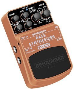 Behringer BSY600 bass synthesizer Effect pedal -- © Copyright 200x, Behringer International GmbH