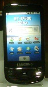 Samsung i7500 schwarz -- © bepixelung.org