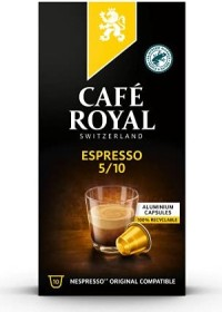 Café Royal Espresso Nespresso-coffee capsules, 10-pack
