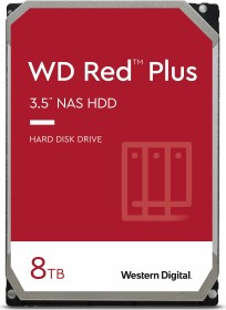 Western Digital WD Red Plus 8TB Bundle, SATA 6Gb/s, 2x 4TB-Pack (2XWD40EFRX)