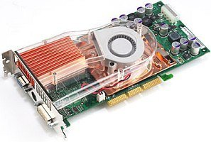 ASUS AGP-V9900ULTRA/TD, GeForceFX 5800 Ultra, 128MB DDR2, DVI, TV-out, AGP