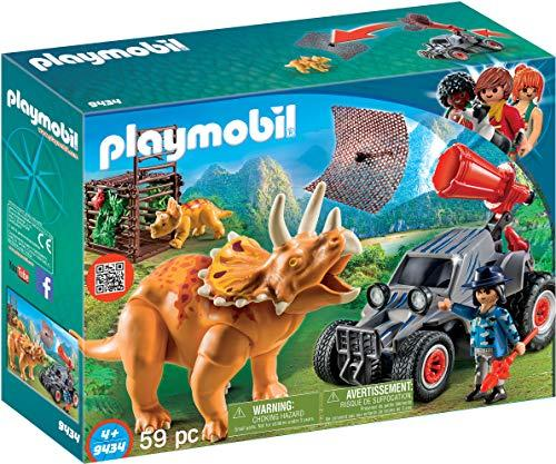 playmobil The Explorers - Offroader mit Dino-Fangnetz (9434)