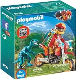playmobil The Explorers - Motocross-Bike mit Raptor (9431)