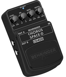 Behringer CD400 Chorus Space-D Effektpedal -- © Copyright 200x, Behringer International GmbH