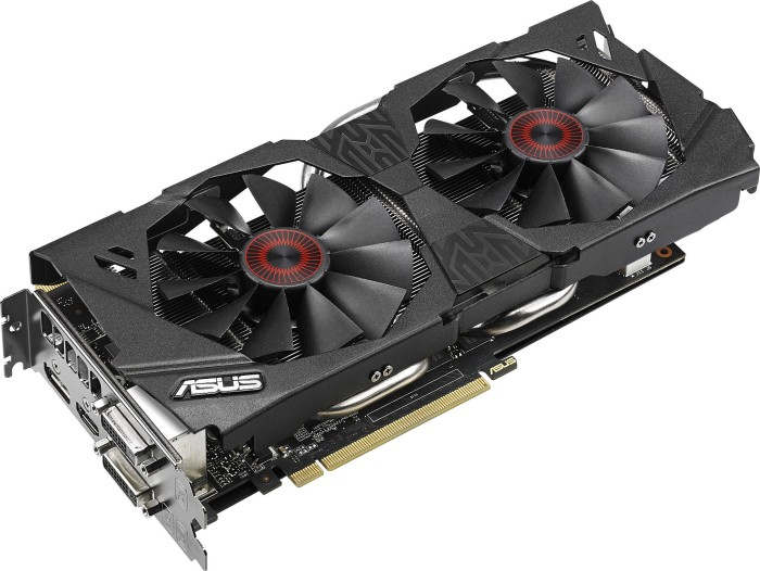 ASUS Strix GeForce GTX 970 OC, STRIX-GTX970-DC2OC-4GD5, 4GB GDDR5, 2x DVI, HDMI, DisplayPort (90YV07F0-M0NA00)