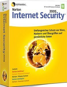 Symantec: Norton Internet Security 2005 8.0 + AntiSpyware, Update (English) (PC) (10408528-IN)