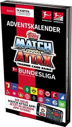 Topps Match Attax Adventskalender Bundesliga 2019/2020 (BL20-AC1) -- via Amazon Partnerprogramm