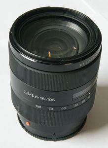 Sony 16-105mm 3.5-5.6 DT schwarz (SAL-16105) -- © bepixelung.org