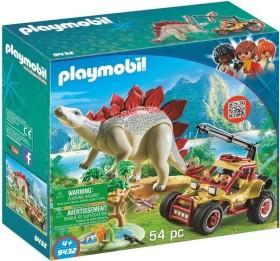playmobil The Explorers - Forschermobil mit Stegosaurus (9432)
