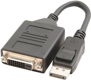 Sapphire active DisplayPort/Single-Link DVI adapter (44000-02-40R)