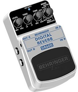 Behringer DR600 reverb Effect pedal -- © Copyright 200x, Behringer International GmbH