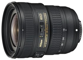 Nikon AF-S 18-35mm 3.5-4.5G ED schwarz (JAA818DA)