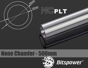 Bitspower HardTube PETG Rohr, 50cm, 16/12mm, klar (BP-NCPLT16-L500)