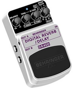 Behringer DR400 Digital Reverb/Delay -- © Copyright 200x, Behringer International GmbH