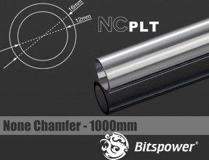 Bitspower HardTube PETG Rohr, 100cm, 16/12mm, klar (BP-NCPLT16-L1000)