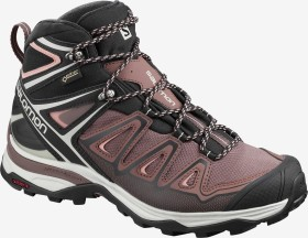 Salomon X Ultra 3 Mid GTX peppercorn/black/coral almond (Damen) (408144)