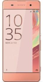 Sony Xperia XA rose gold
