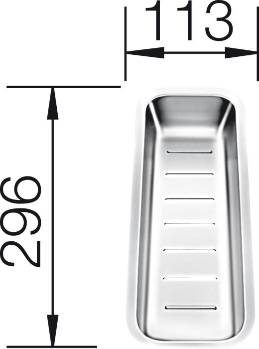 blanco abtropfschale 224789 ab 70 67 2018 preisvergleich geizhals deutschland. Black Bedroom Furniture Sets. Home Design Ideas