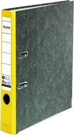 Falken Wolkenmarmor Recycling Ordner A4, 5cm, gelb (80023625002)