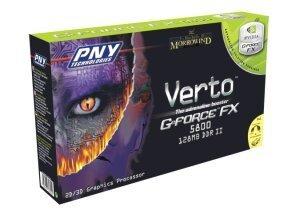 PNY Verto GeForceFX 5800, 128MB DDR2, DVI, ViVo, AGP
