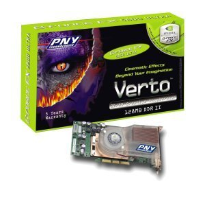PNY Verto GeForceFX 5800 Ultra, 128MB DDR2, DVI, ViVo, AGP