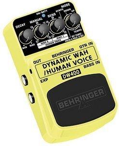 Behringer DW400 Dynamic Wah/Human Voice -- © Copyright 200x, Behringer International GmbH