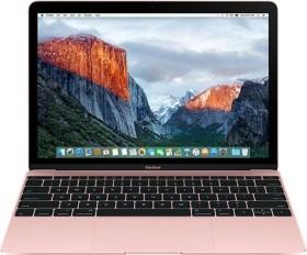 Apple MacBook 12 Rose Gold, Core i7-7Y75 OC, 8GB RAM, 256GB SSD [2017 / Z0U3]