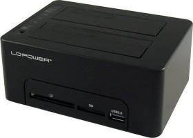 LC Power LC-DOCK-U3-CR<br>LC Power LC-DOCK-U3-CR HDD Docking station CF/SD Card r