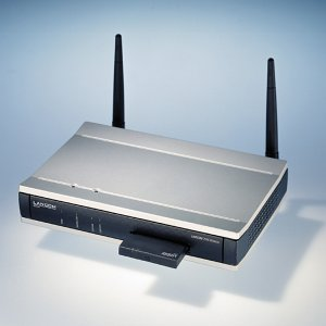 Lancom 3050 Wireless dwuzakresowy Access-Point i router DSL (60643)