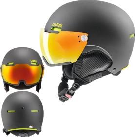 UVEX Hlmt 500 Visor Helm schwarz matt (566213-200)