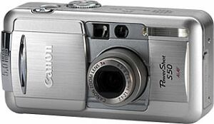 Canon PowerShot S50, inkl. 1GB Microdrive (8445A008)