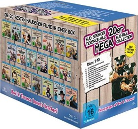 Bud Spencer & Terence Hill 20er Mega Collection (Blu-ray)