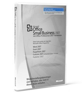 Microsoft: Office 2007 Small Business DSP/SB, MLK, 1-pack, labeled (German) (PC) -- © DiTech