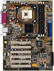 ASUS P4S8X, SiS648 (różne warianty) (PC-2700 DDR)
