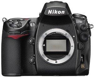 Nikon D700 schwarz Gehäuse (VBA220AE)