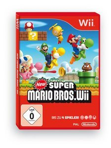 New Super Mario Bros. (English) (Wii)